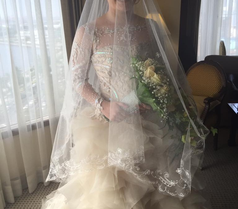 Bride Ara wedding dress